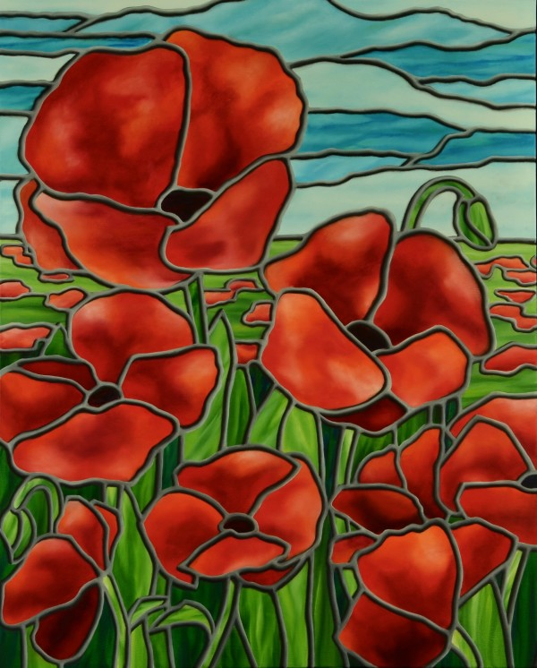 Poppies by JS Aitken
