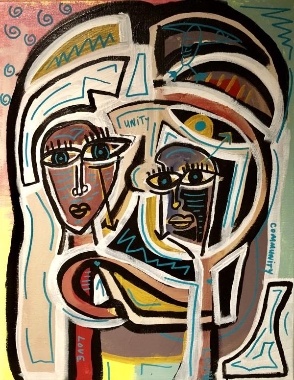 """Unity, Community, Love, Love"" by Jon Osborne"