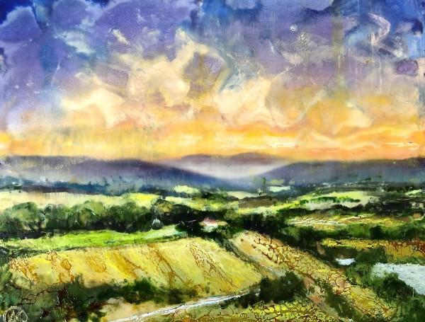 Mid-Summer Skies by Anne Stine