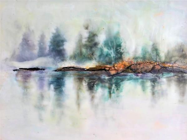Reflective Fog by Anne Stine