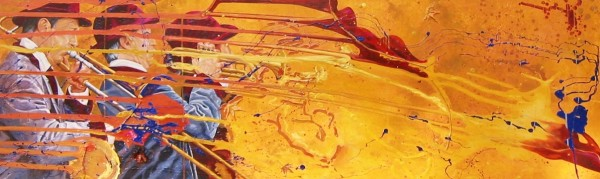 a) Blown Away by Kathleen Katon Tonnesen