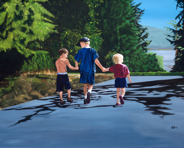 A1) Cousin Kyle by Kathleen Katon Tonnesen