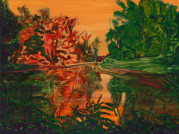 a) Kanaka Creek, Maple Ridge, BC., Canada by Kathleen Katon Tonnesen
