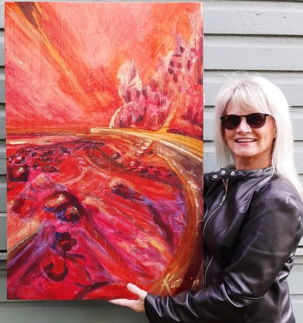 A4) Seawall Ascension by Kathleen Katon Tonnesen