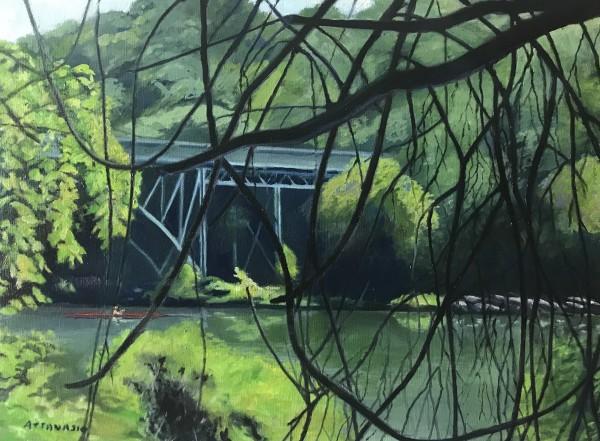 Strawberry Mansion Bridge by John Attanasio