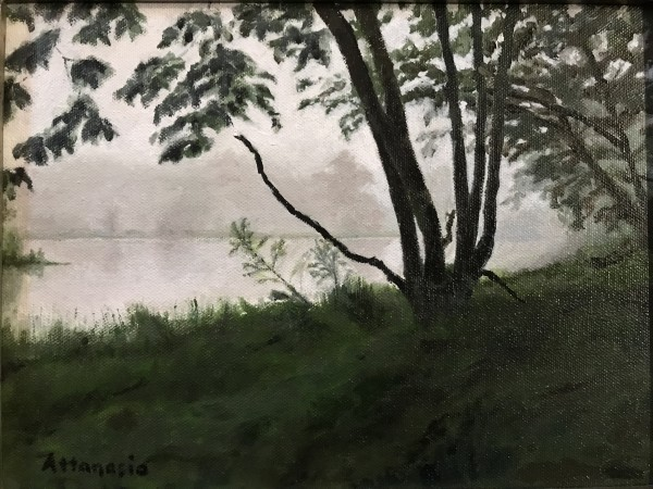 Pond on Bear Mountain by John Attanasio