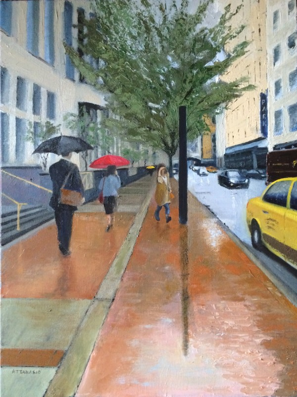 Yellow Taxi by John Attanasio