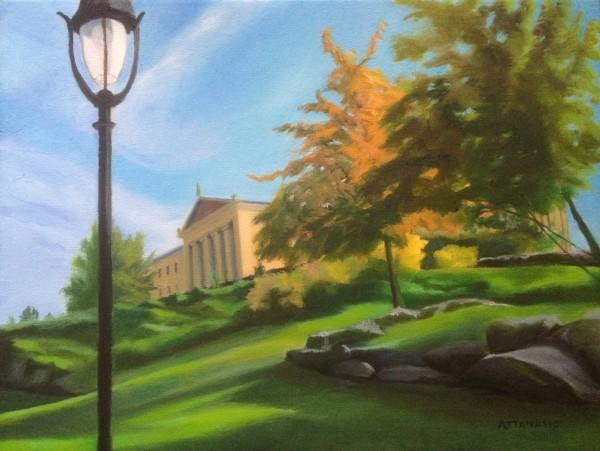 Autumn Orange by John Attanasio