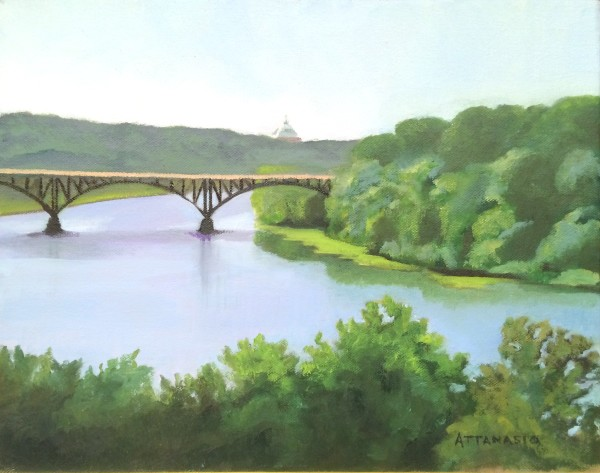 View from Laurel Hill by John Attanasio