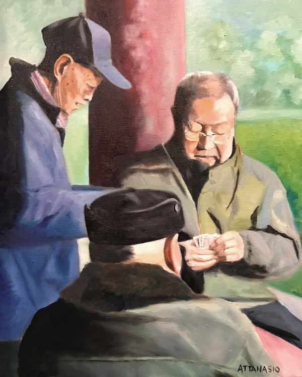 The Card Players by John Attanasio