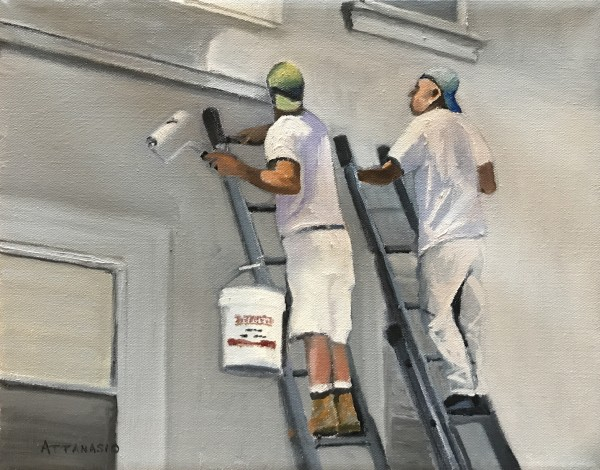 Painting South Philly by John Attanasio