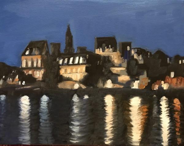 Across the Seine by John Attanasio