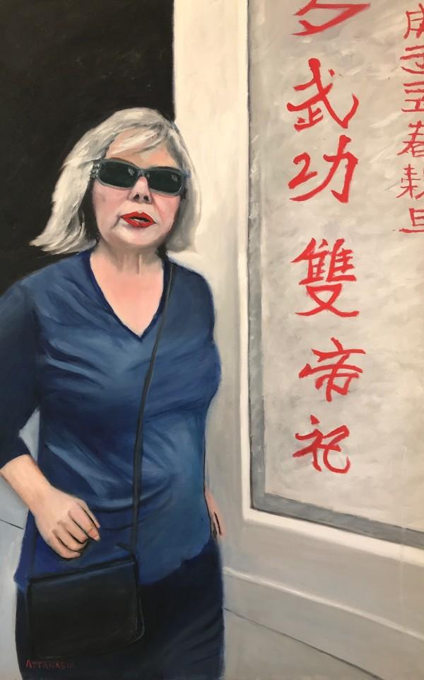 Tourist in Hong Kong by John Attanasio