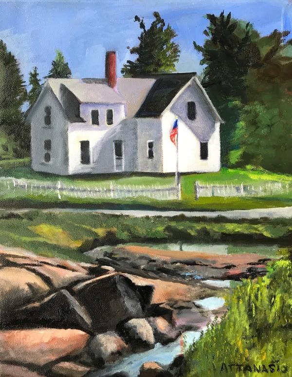 House on Tidal Creek by John Attanasio