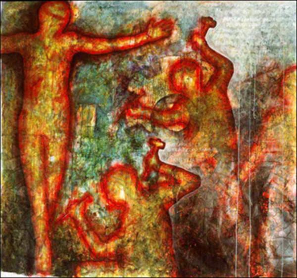 I Crucified My Own Identity by Sergio Gomez