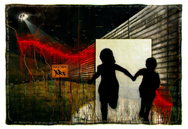 The Bleeding Border by Sergio Gomez