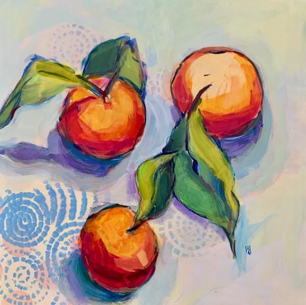 Orangey 3 by Sally Hootnick