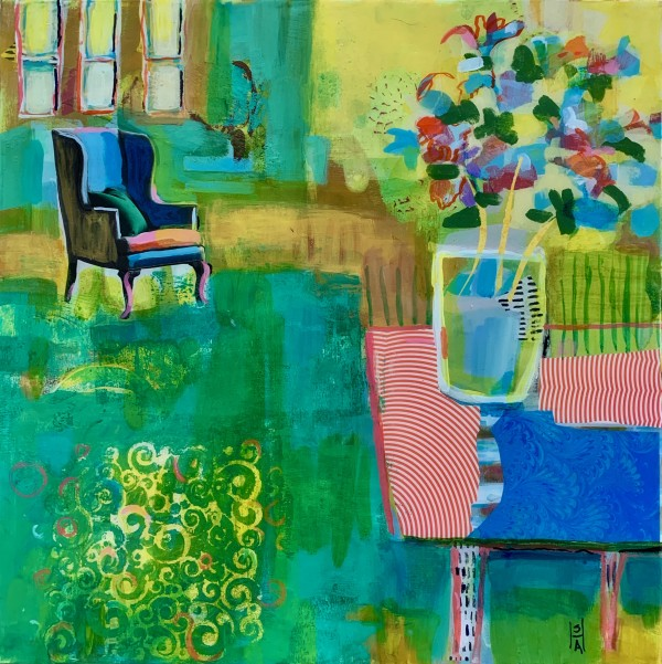 Easy Chair by Sally Hootnick