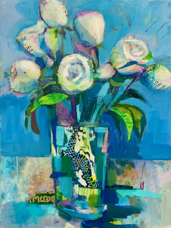 Modern Roses by Sally Hootnick