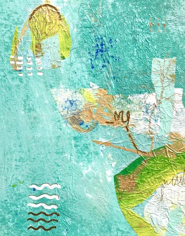 Aqua #1 by Sally Hootnick