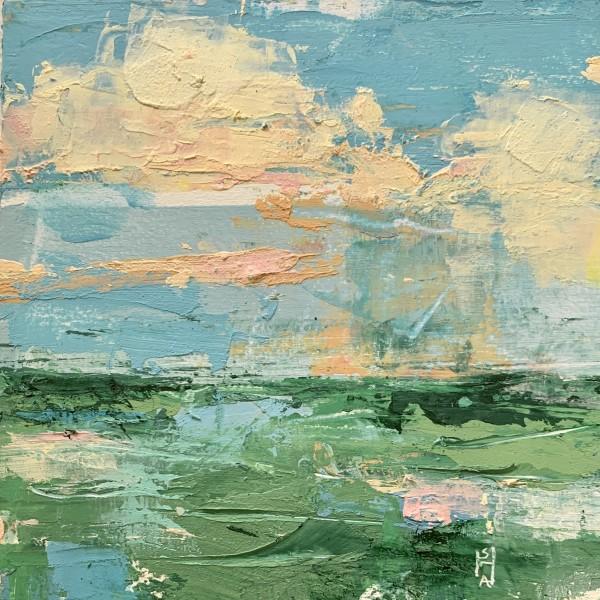 Little Landscape #9 by Sally Hootnick