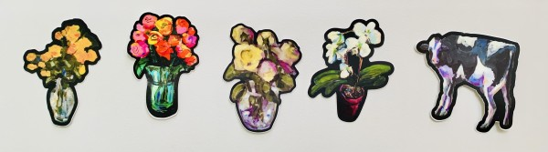 Fine Art Stickers by Sally Hootnick