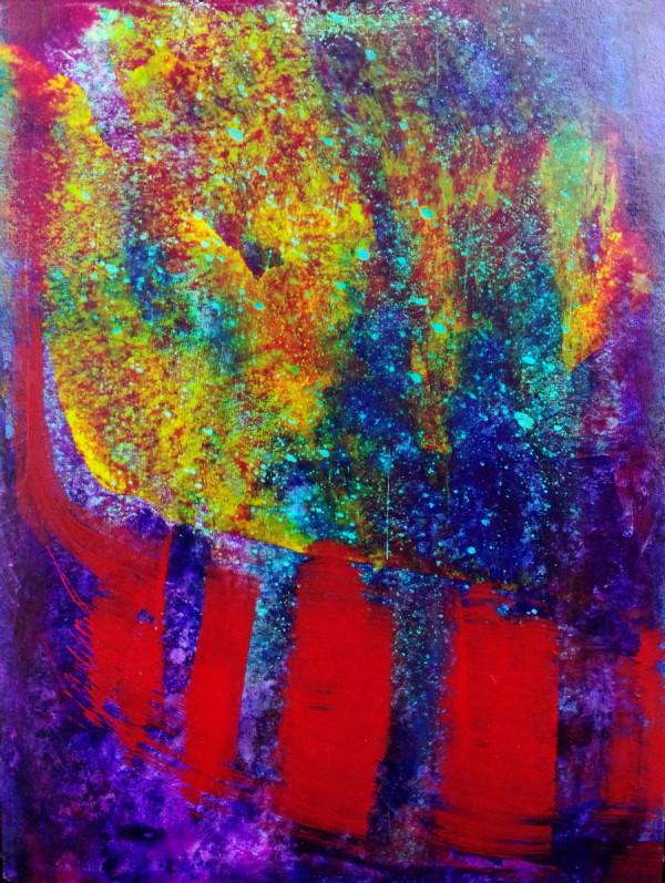 Gravity's Rainbow - Embracing Light III by Richard Heys