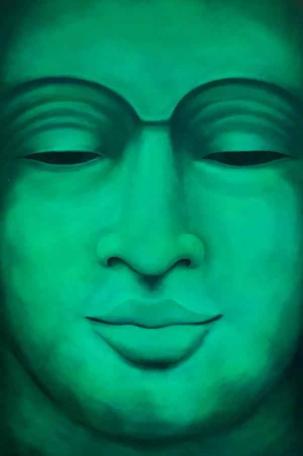 Emerald Buddha by Terri Maxfield Lipp
