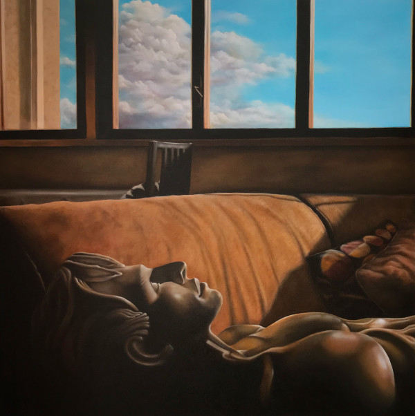 Ken Contemplates Eternity by Terri Maxfield Lipp