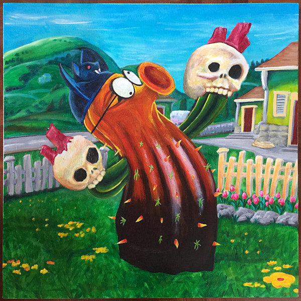 Respect The Cactus (Homage To A Platypus) by Terri Maxfield Lipp