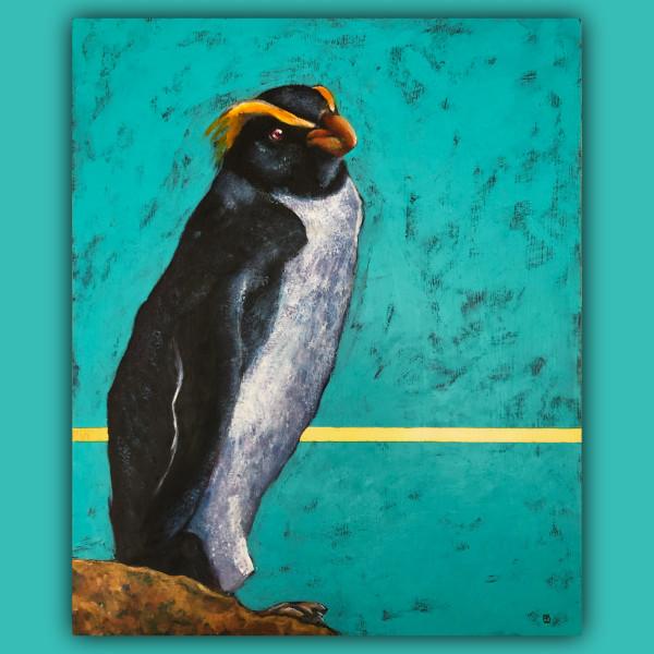 Disinterested Penguin by Terri Maxfield Lipp