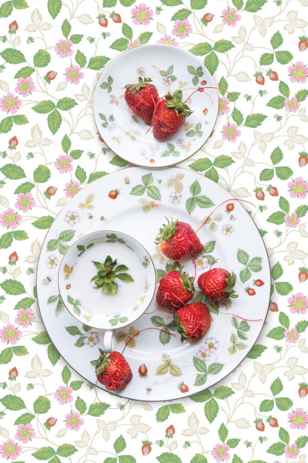 Wedgwood Wild Strawberry with Strawberry by JP Terlizzi