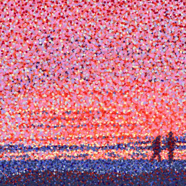 Evening Stroll by Rebecca Bangs