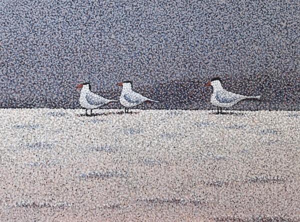Three Sentries by Rebecca Bangs