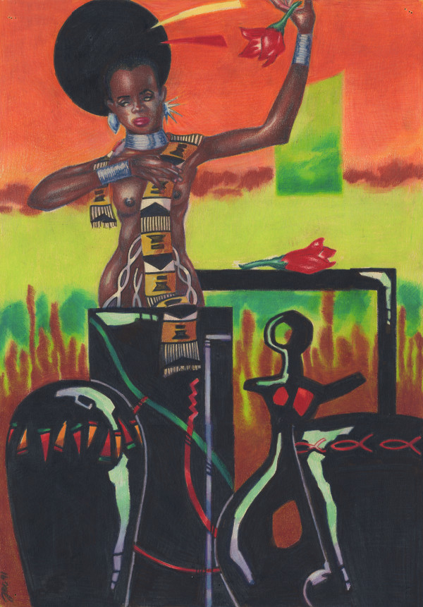 Afro-dite by J. Alan Cumbey