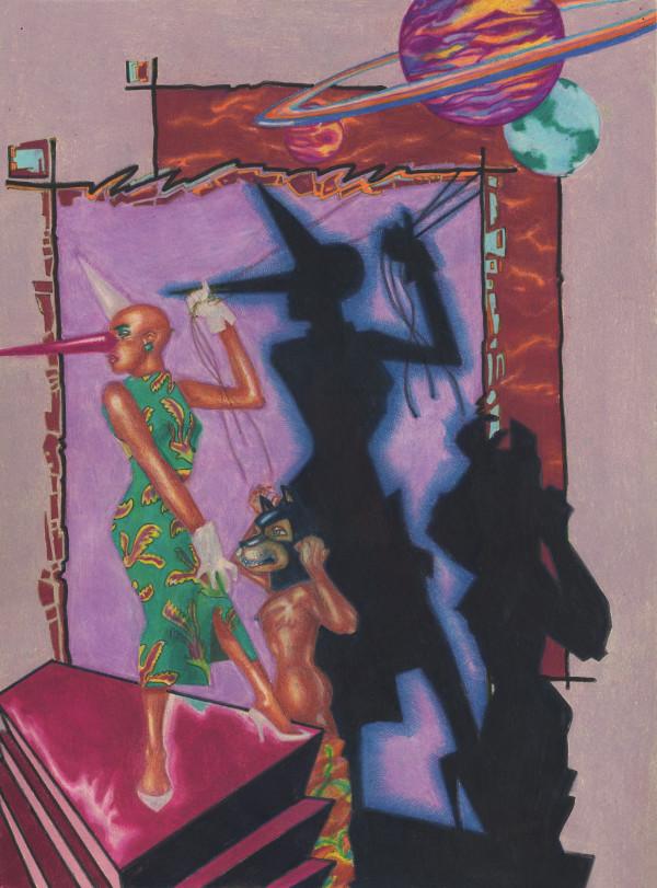 Jealous Gods #2 by J. Alan Cumbey