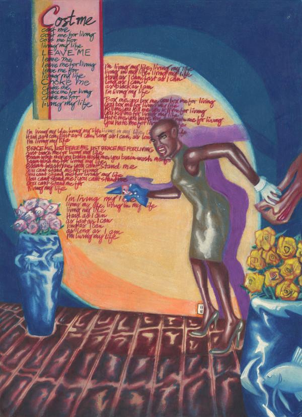 Living My Life (by Grace Jones) by J. Alan Cumbey