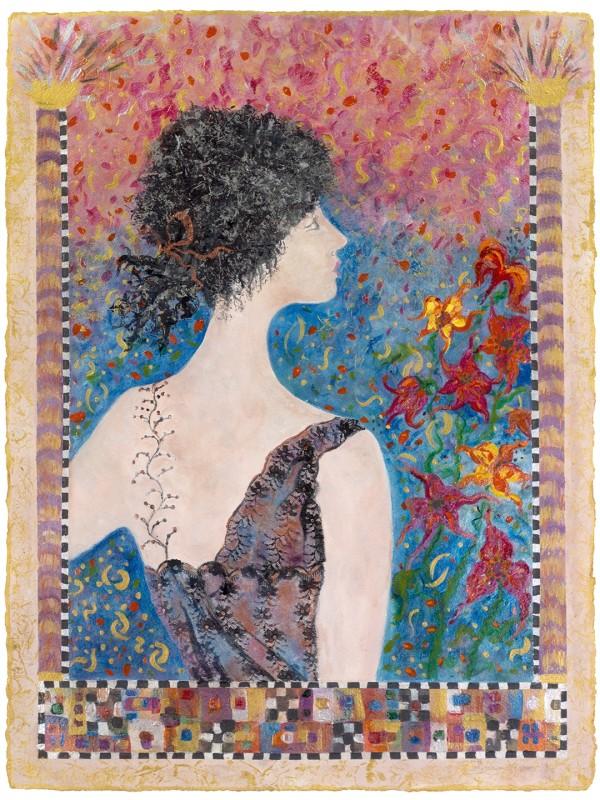 卡洛琳·克莱默的《吃午餐的女人——莉莉》