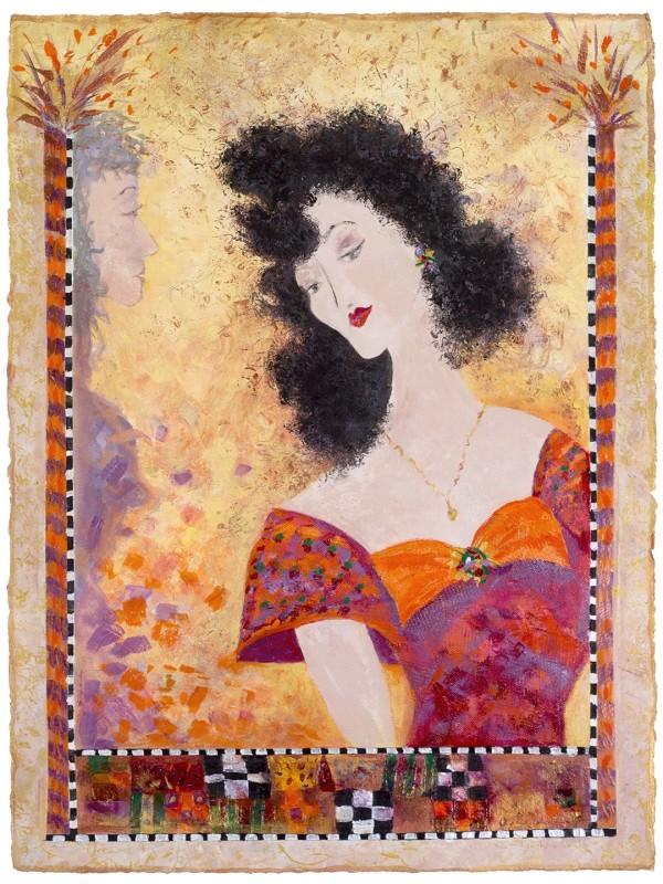 卡洛琳·克莱默的《吃午饭的女人——爱娃》
