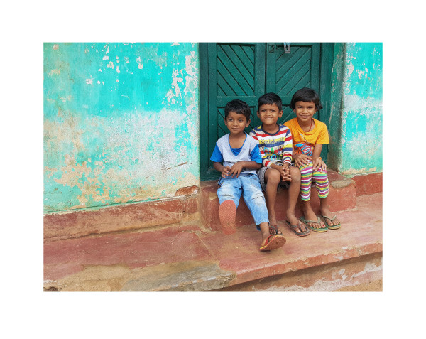 Odishan Children I by Ellen Howell