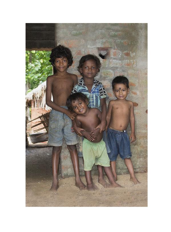 Odishan Children II by Ellen Howell