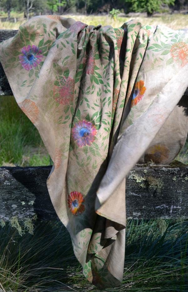 Prakash's Garden in Taupe II by Ellen Howell