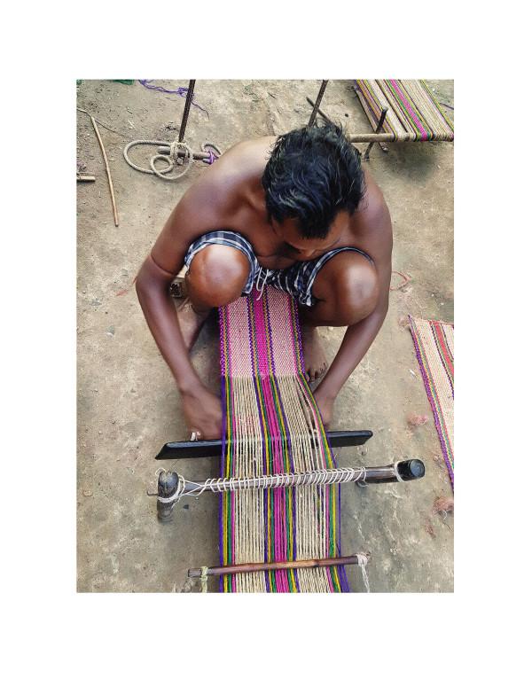 Backstrap Weaving in the Jute Village by Ellen Howell