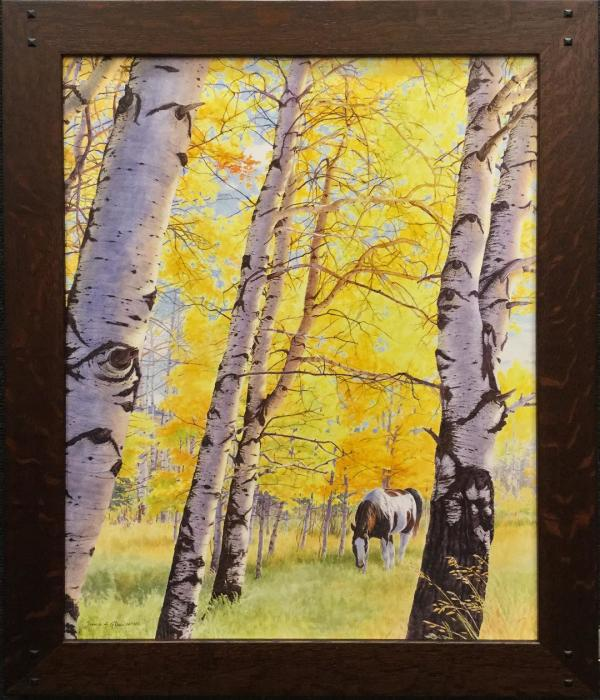 Alice Creek Aspen II by Jessica Glenn