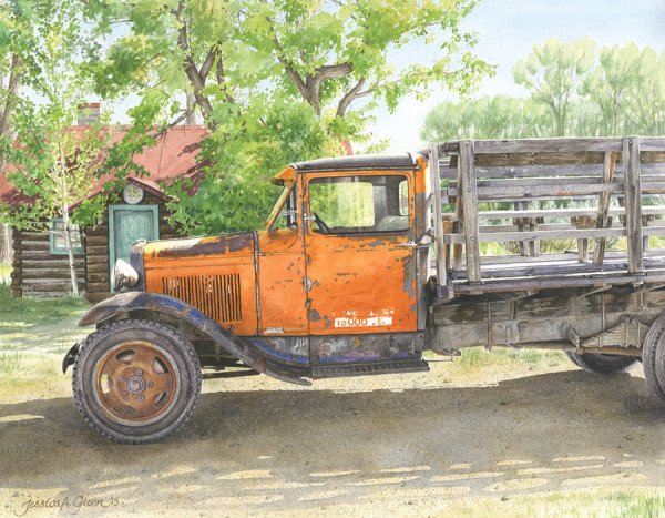 Bannack '31 Ford by Jessica Glenn