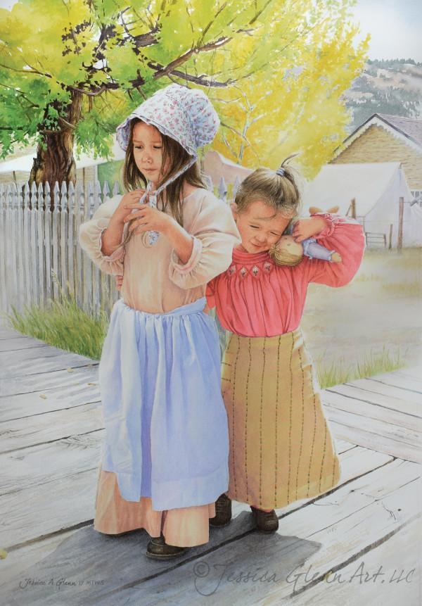 Gingham Sisters by Jessica Glenn
