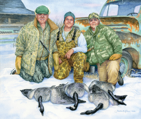 Goose Hunters by Jessica Glenn