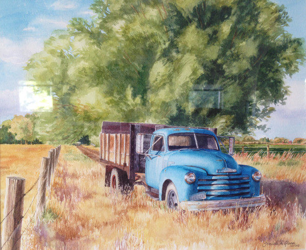 Ol' Blue in July by Jessica Glenn