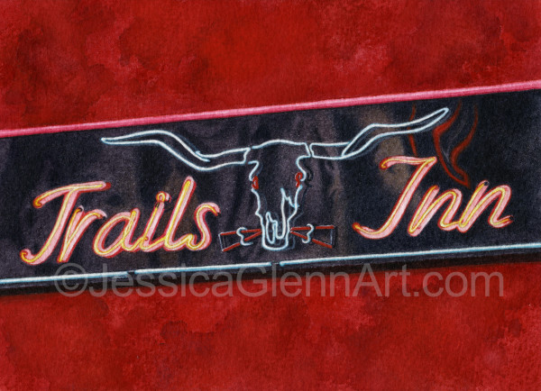 Trails Inn by Jessica Glenn
