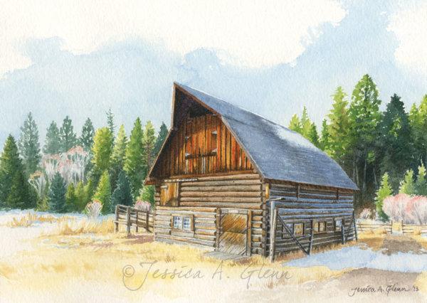 Ant Flat Barn by Jessica Glenn